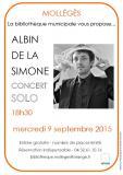 Albin de la Simone à Mollégès