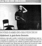 Aldebert à Notre Dame de Gravenchon