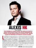 Alexis HK en médiathèque