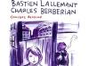 Concert dessiné avec Bastien Lallemant, Charles Berbérian et Maëva Le Berre à Créhange