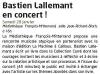 Bastien Lallemant à Poitiers