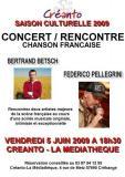 Bertrand Betsch et Lonesome French Cowboy à Créhange