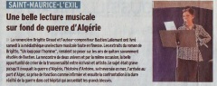 Lecture musicale St Maurice l'Exil