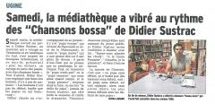 Didier Sustrac à Ugine