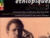 Centenaire des premiers enregistrements éthiopiens Azmari Tèssèma Eshèté, 1908-1910 (2 CD)
