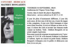 Mathieu Boogaerts à St Germain