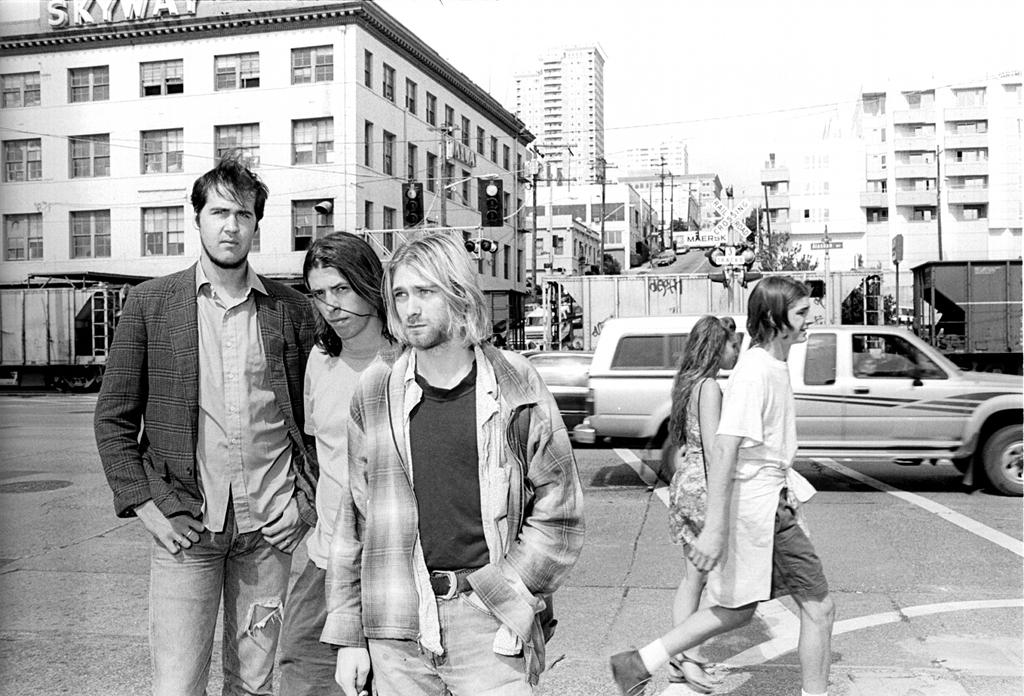 Nirvana, Seattle, 10 août 1993 par Renaud Monfourny