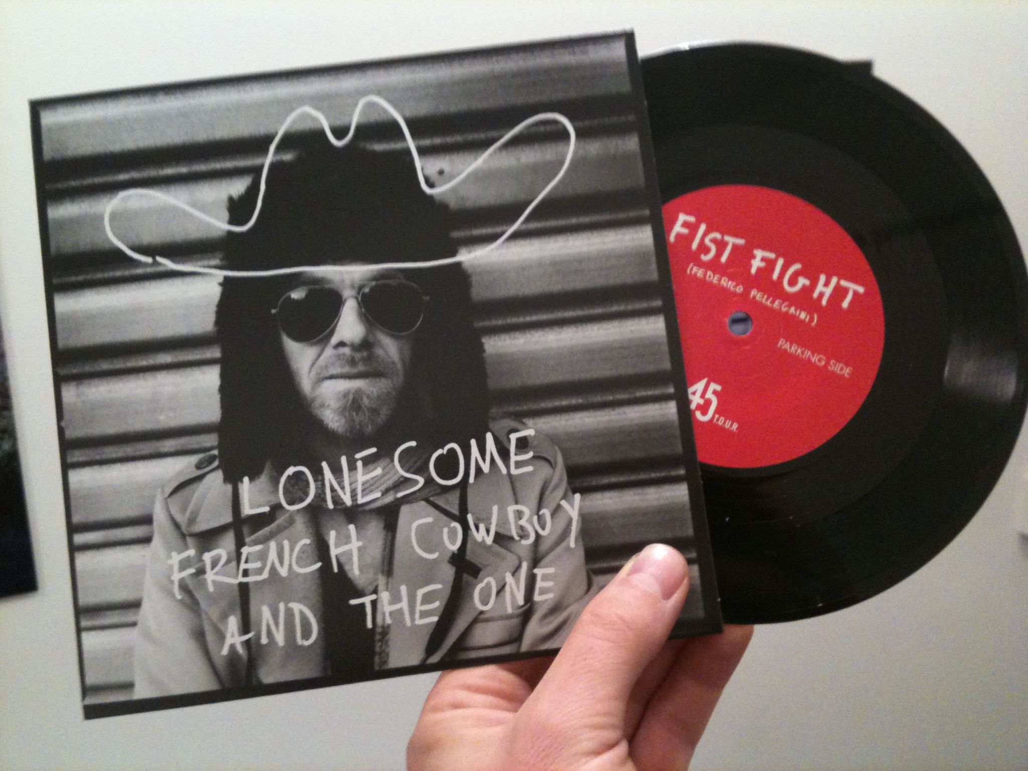 Vinyle Lonesome French Cowboy and the One