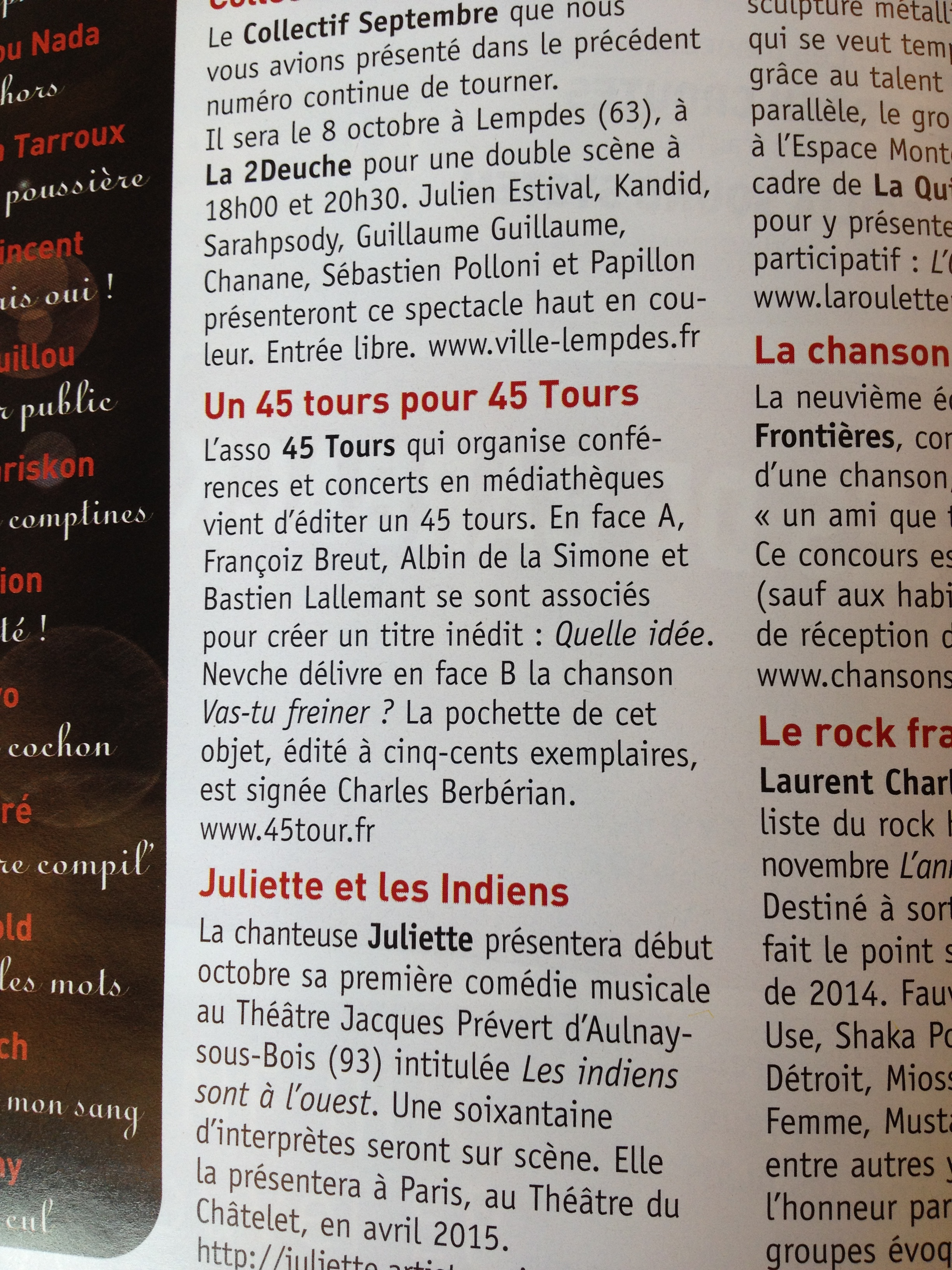 Article Francofans oct-nov 2014