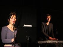 Albin de la Simone et Brigitte Giroud à Peynier