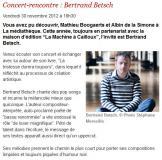 Bertrand Betsch à Gentilly