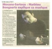 Mathieu Boogaerts à Mouans Sartoux