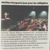 Mathieu Boogaerts à Six Fours les Plages